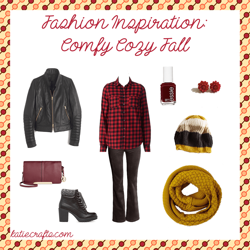 Fashion Inspiration: Comfy Cozy Fall on Katie Crafts; https://www.katiecrafts.com